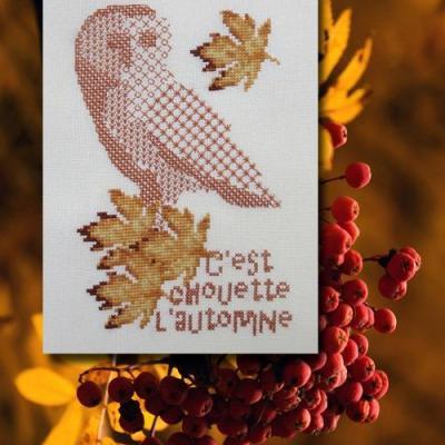 C'est chouette l'automne N° 1076 Au Fil de Martine