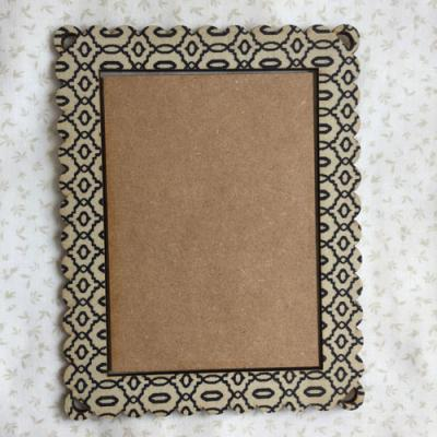 Cadre Rectangle Noel Beige