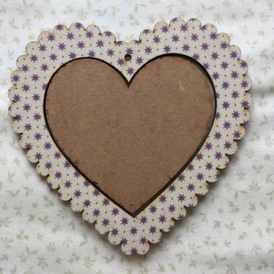 Cadre Coeur Etoile