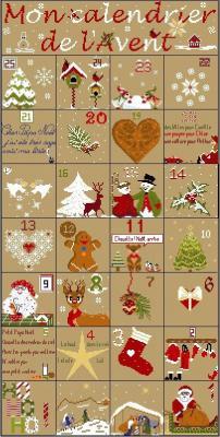 Mon calendrier de l'avent Joli Tambour Création