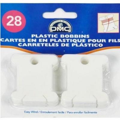 Lot de 28   Cartes en  plastique pour fils