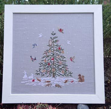 Noël dans la forêt Couleur d'Etoile CE0150