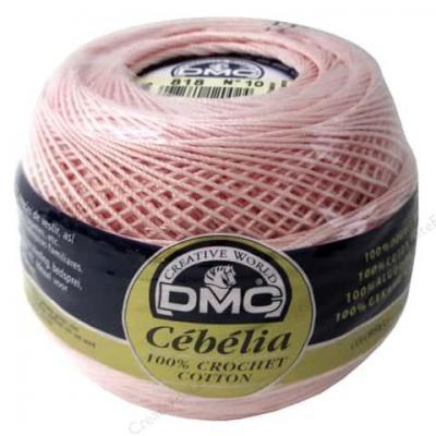 Cébélia Grosseur 10 DMC couleur 818