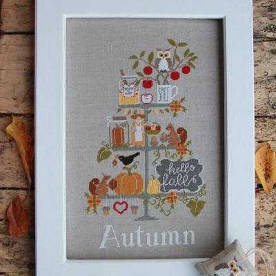 Celebrate autumn Madame Chantilly