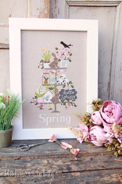 Celebrate spring madame chantilly