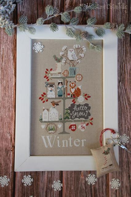 Celebrate winter madame chantilly 1