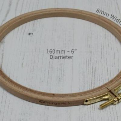Tambour à Broder 16 cm N100-3 NURGE