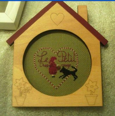 Miniature Le petit chaperon rouge Joli Tambour Création