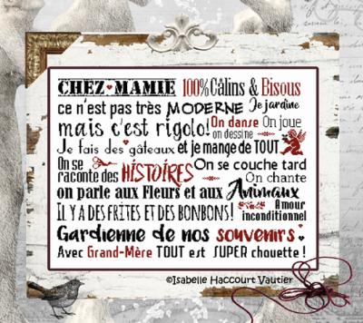 Chez mamie BDN45 Isabelle Haccourt Vautier