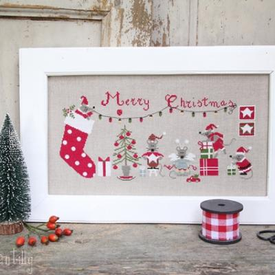 Christmas Mice Madame Chantilly