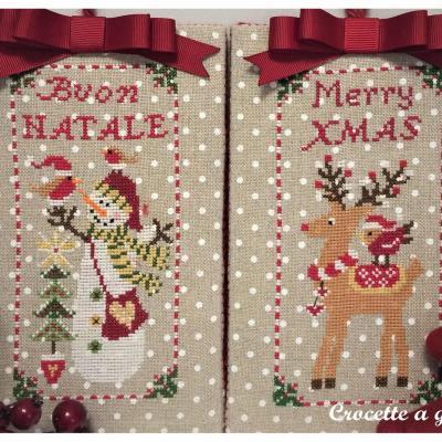 Christmas ornaments set 1 Crocette a gogò