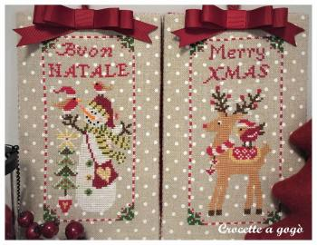 Christmas ornaments set 1 crocette a gogo 1