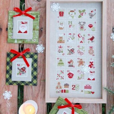 Christmas stamps Madame Chantilly