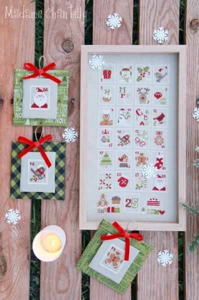 Christmas stamps 1