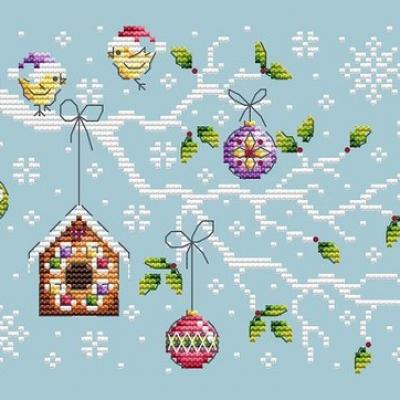Christmas Branch 'Branche de Noël' Shannon Christine Designs
