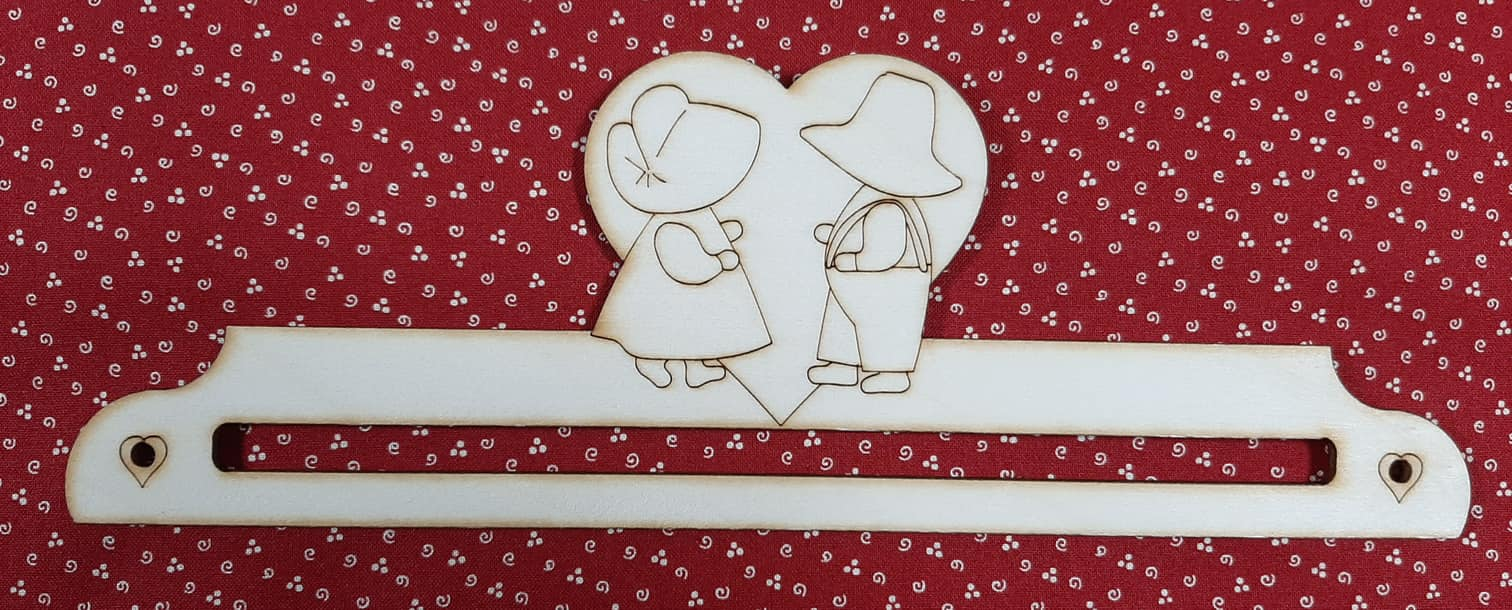 Cintre couple sunbonnet 20 cm 1