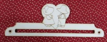 Cintre couple sunbonnet 20 cm 2
