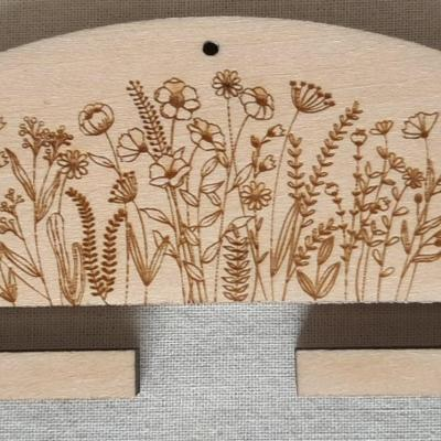 Cintre Fleurs 10 ou 20 cm