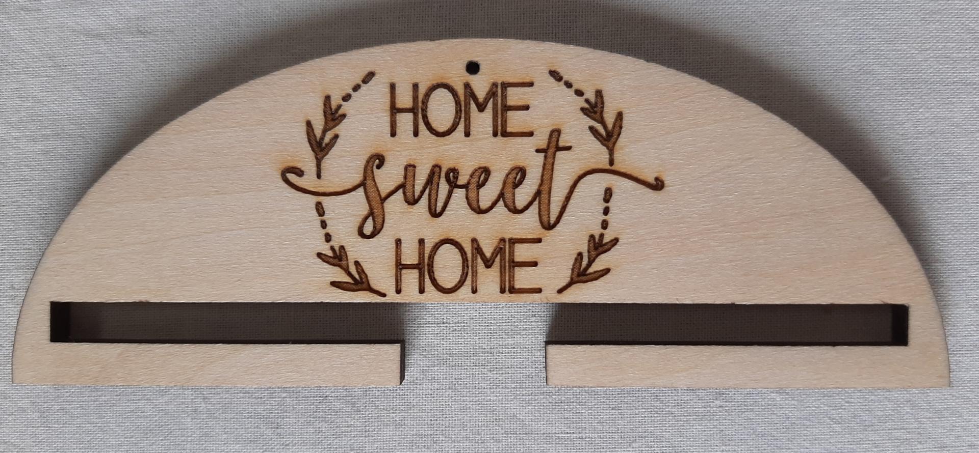 Cintre home sweet home 10 ou 20 cm