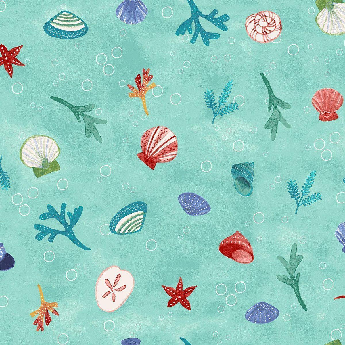 Clothworks sanibel aqua y3206 33