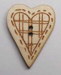 Coeur carreaux BLC031  Au P'tit Bonheur