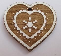Coeur de montagne BLC053  Au P'tit Bonheur