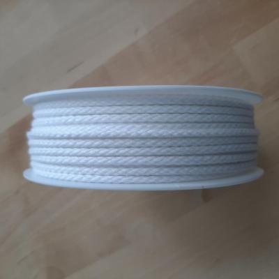 Cordon Coton Blanc 4mm