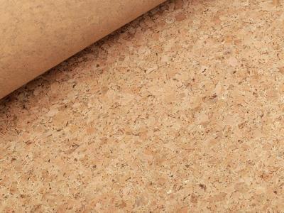 Coupon Tissu liège Métallique Or 46x51 cm