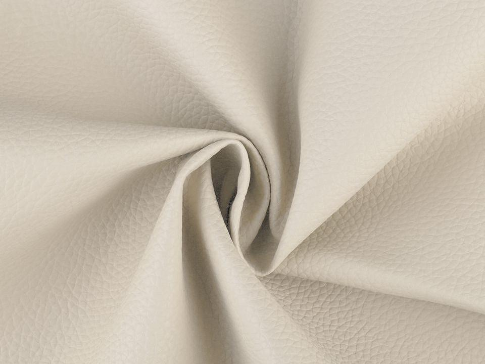 Coupon simili cuir ecru 50x70 cm 2