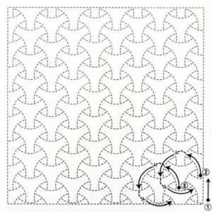 Coupon tissu sashiko navy h2015 4