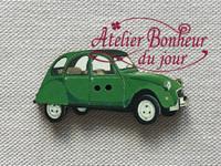 Deudeuche verte VI-13 - Atelier Bonheur du jour