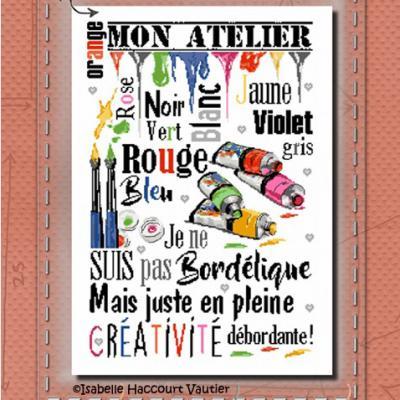 Dans mon atelier BDN56 Isabelle Haccourt Vautier