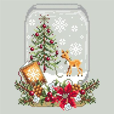 Deer Snow Globe 'Boule à neige au renne 'Shannon Christine Designs
