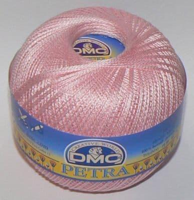 Dmc petra crochet cotton no 8 pink 5149 6328 p