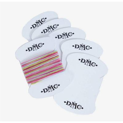 Lot de 6 Cartonettes DMC en carton  - 6142