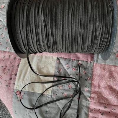 Elastique Masque 4 mm Noir