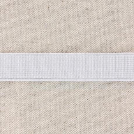 Elastique cotele 20mm blanc