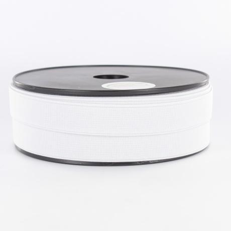 Elastique cotele 20mm blanc 1