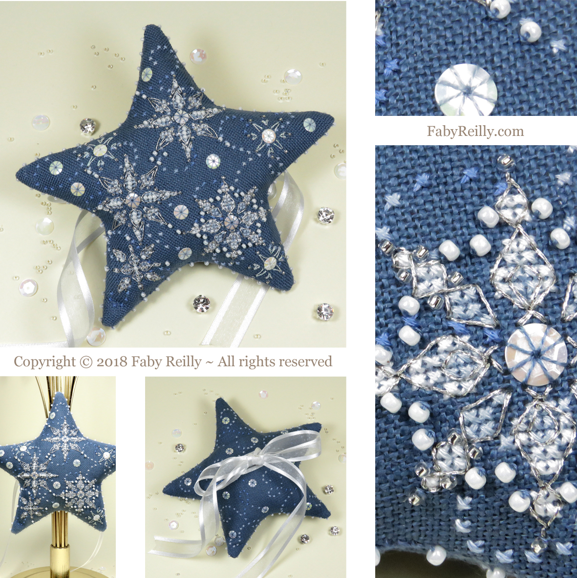 Etoile let it snow faby reilly designs