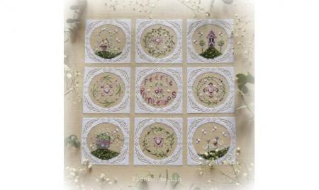 Feerie de printemps fleurs de lin 1