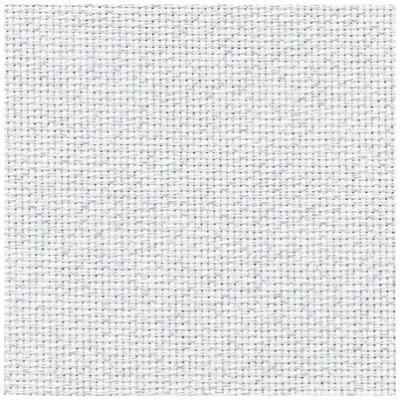Toile à Broder Zweigart Aïda 7 Pts 3793 de Lin Irisé blanc 11