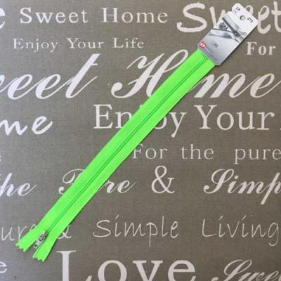 Fermeture non séparable Vert Fluo 25cm