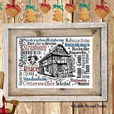 Souvenirs d'Alsace BDN 69 Isabelle Haccourt Vautier