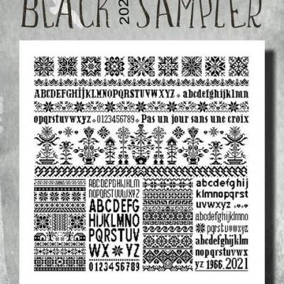 Black 2021 Sampler MARQ08 Isabelle Haccourt Vautier