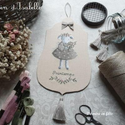 Fiche 'Mouton de Printemps' Le Lin d'Isabelle
