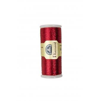 Fil à Broder DMC Diamant Art. 380B D321 Rouge Noël