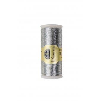 Fil à broder diamant DMC 380B D415 Argent