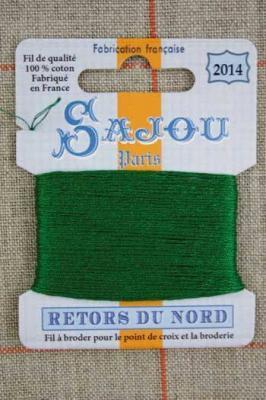 Fil à broder Retors du Nord Sajou carte 20 m - n°2014 Jardin