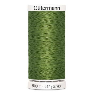 Fil à Coudre 100% Polyester 500m Coloris Kaki Vert 283 Guttermann