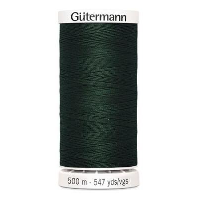 Fil à Coudre 100% Polyester 500m Coloris Vert Bouteille 472 Guttermannann